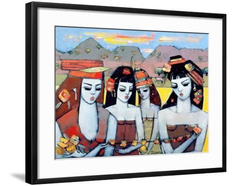 Four from Ys, 2004-Endre Roder-Framed Art Print