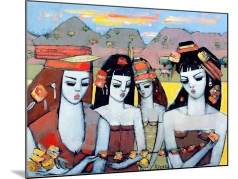 Four from Ys, 2004-Endre Roder-Mounted Giclee Print