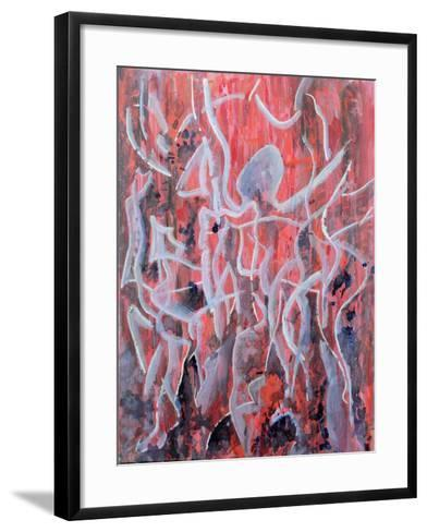 A High Note of Breathing, the Base of Your Blood, 2007-Thomas Hampton-Framed Art Print