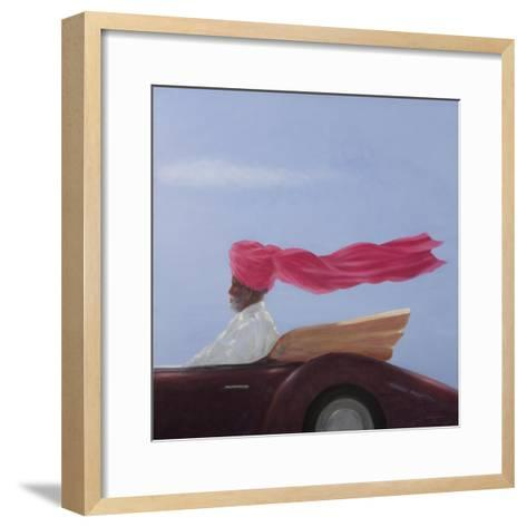 Maharajah at Speed-Lincoln Seligman-Framed Art Print