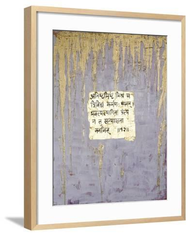 Renunciation, 2007-Faiza Shaikh-Framed Art Print