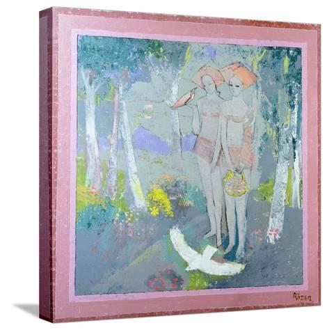 Wink, 1996-Endre Roder-Stretched Canvas Print