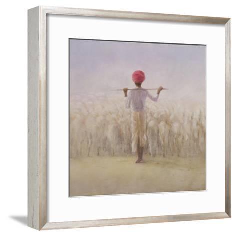 Shepherd and Flock-Lincoln Seligman-Framed Art Print