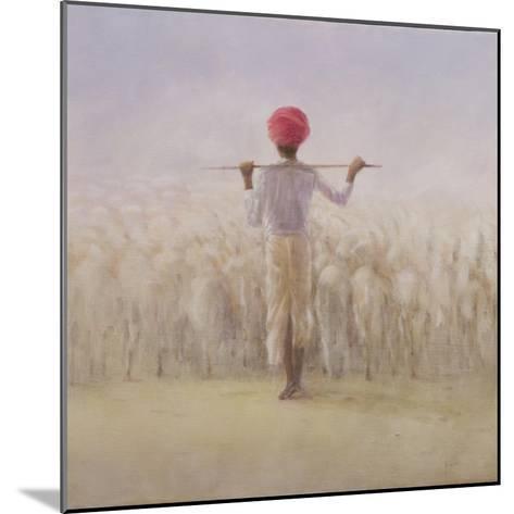 Shepherd and Flock-Lincoln Seligman-Mounted Giclee Print
