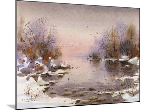 A Quiet Place-LaVere Hutchings-Mounted Giclee Print