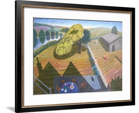 Summer Holiday, 2006-Ian Bliss-Framed Art Print