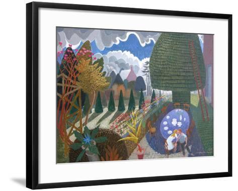 Get Your Hand Off My Leg, 2007-Ian Bliss-Framed Art Print