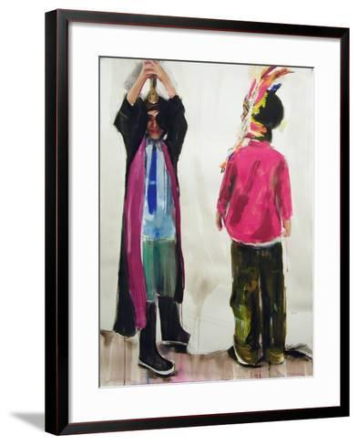 Cops and Robbers, 2006-Daniel Clarke-Framed Art Print