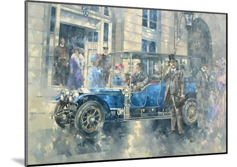 Outside the Ritz-Peter Miller-Mounted Giclee Print