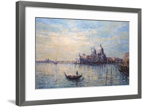 Morning Light Venice-John Sutton-Framed Art Print