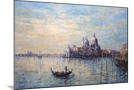 Morning Light Venice-John Sutton-Mounted Giclee Print