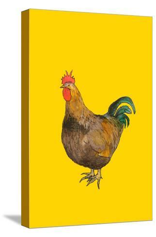 Cock, 2008-Sarah Thompson-Engels-Stretched Canvas Print
