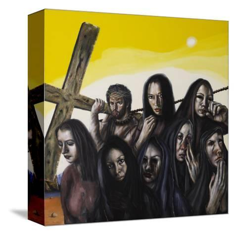 Stations of the Cross VIII: Jesus Speaks to the Women of Jerusalem, 2006-Chris Gollon-Stretched Canvas Print