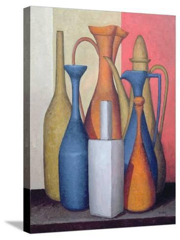 Composition of Vessels, Varying Tones-Brian Irving-Stretched Canvas Print