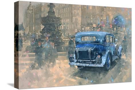 Phantom in Piccadilly (Detail)-Peter Miller-Stretched Canvas Print