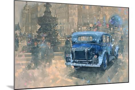 Phantom in Piccadilly (Detail)-Peter Miller-Mounted Giclee Print