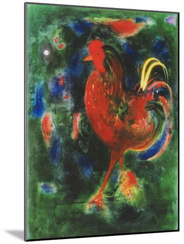 Cockerel, 2005-Jane Deakin-Mounted Giclee Print