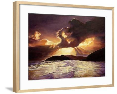 Here Comes the Storm, 2008-Kevin Parrish-Framed Art Print