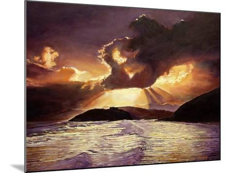 Here Comes the Storm, 2008-Kevin Parrish-Mounted Giclee Print