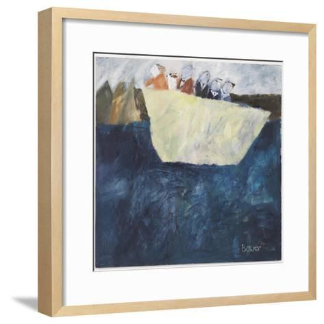 Woman at the Helm, 2007-Susan Bower-Framed Art Print