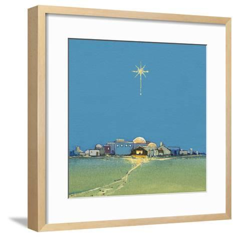 Nativity, 2008-David Cooke-Framed Art Print