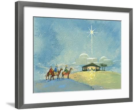 Three Wise Men, 2008-David Cooke-Framed Art Print