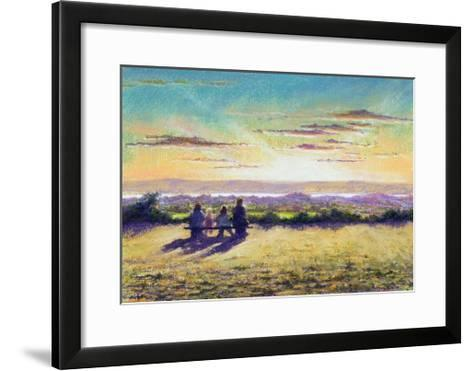 The Remains of the Day, 2003-Anthony Rule-Framed Art Print
