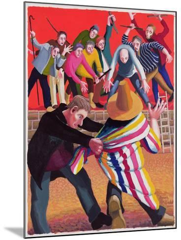 Joseph Hated by His Brothers, 2003-Dinah Roe Kendall-Mounted Giclee Print