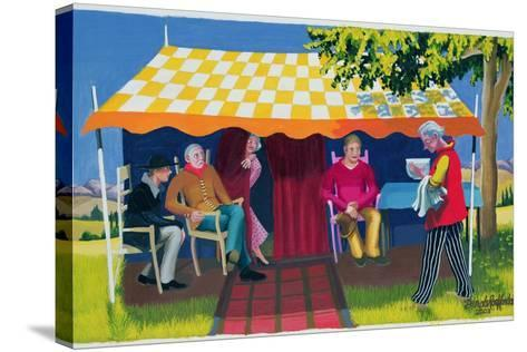 Abraham's Three Visitors, 2003-Dinah Roe Kendall-Stretched Canvas Print