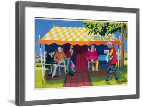 Abraham's Three Visitors, 2003-Dinah Roe Kendall-Framed Art Print