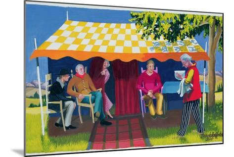Abraham's Three Visitors, 2003-Dinah Roe Kendall-Mounted Giclee Print