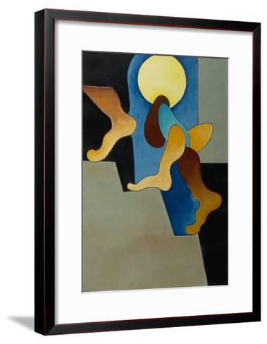 Don't You Hear Those Steps, 2008-Jan Groneberg-Framed Art Print