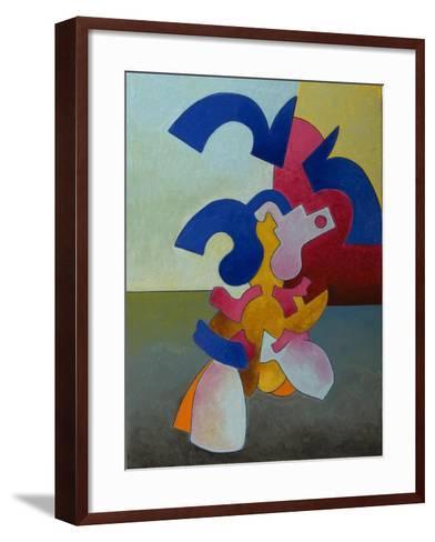 Body and Soul Nr.1, 1007-Jan Groneberg-Framed Art Print