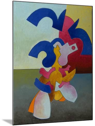 Body and Soul Nr.1, 1007-Jan Groneberg-Mounted Giclee Print