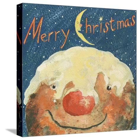 Merry Christmas Pudding, 2008-David Cooke-Stretched Canvas Print