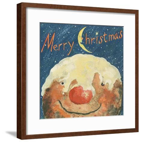 Merry Christmas Pudding, 2008-David Cooke-Framed Art Print