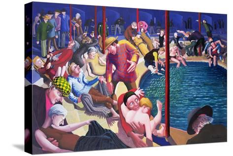 Pool of Bethesda, 2000-Dinah Roe Kendall-Stretched Canvas Print