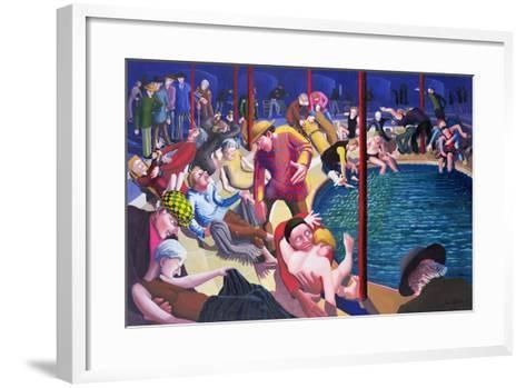 Pool of Bethesda, 2000-Dinah Roe Kendall-Framed Art Print