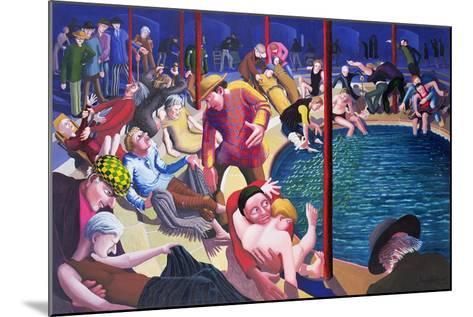 Pool of Bethesda, 2000-Dinah Roe Kendall-Mounted Giclee Print