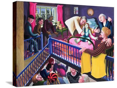 Raising of Jairus' Daughter, 2000-Dinah Roe Kendall-Stretched Canvas Print