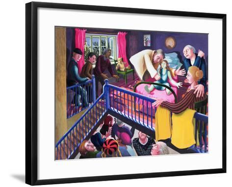 Raising of Jairus' Daughter, 2000-Dinah Roe Kendall-Framed Art Print