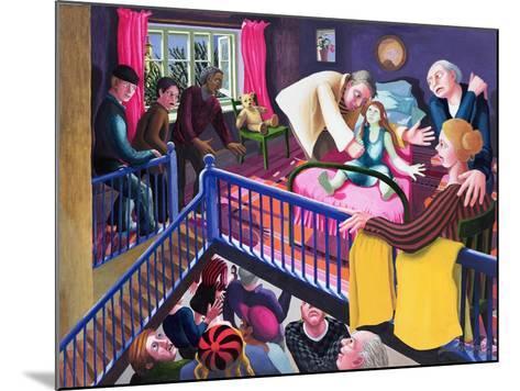 Raising of Jairus' Daughter, 2000-Dinah Roe Kendall-Mounted Giclee Print
