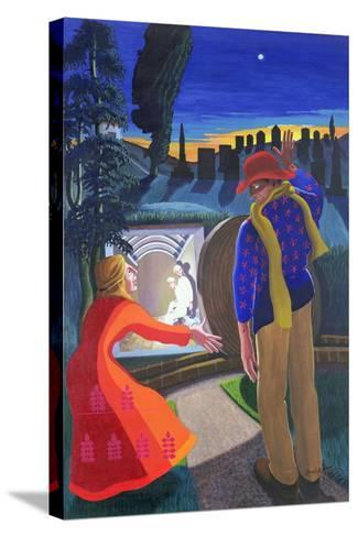 """""""Go to My Brothers and Tell Them"""", 2001-Dinah Roe Kendall-Stretched Canvas Print"""