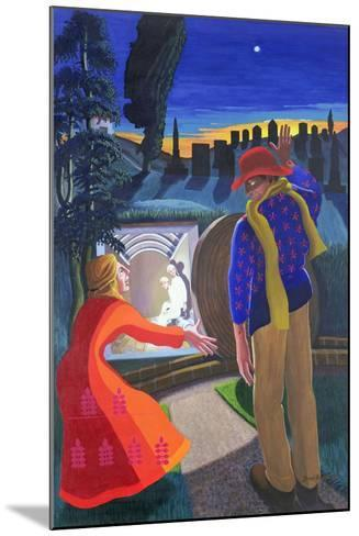 """""""Go to My Brothers and Tell Them"""", 2001-Dinah Roe Kendall-Mounted Giclee Print"""