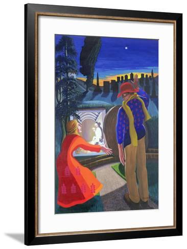 """""""Go to My Brothers and Tell Them"""", 2001-Dinah Roe Kendall-Framed Art Print"""