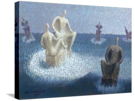 The Gods Abandoned, 1956-John Armstrong-Stretched Canvas Print