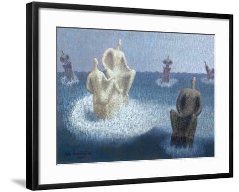 The Gods Abandoned, 1956-John Armstrong-Framed Art Print