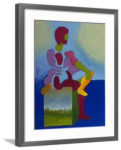 Death Waiting Patiently, 2008-Jan Groneberg-Framed Art Print