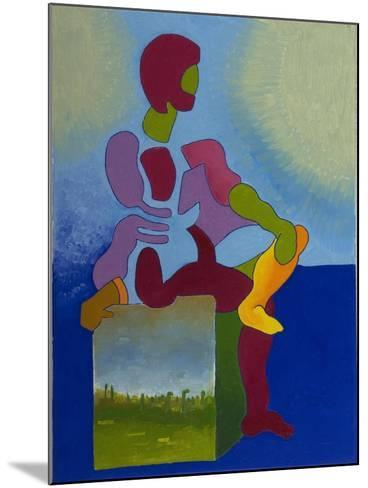 Death Waiting Patiently, 2008-Jan Groneberg-Mounted Giclee Print