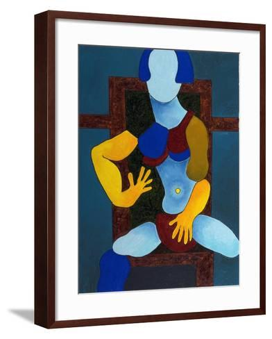 Girl with an Expensive Bikini, 2007B-Jan Groneberg-Framed Art Print